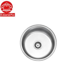 سینک ظرفشویی توکار کد 170 استیل البرز