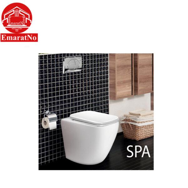 توالت فرنگی وال هنگ SPA مروارید