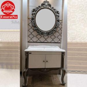 دستشویی امپراطور نقره ای 80 سانتی کاترین